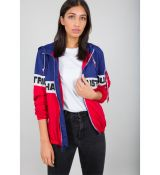 Alpha Industries dámska bunda Color Block Windbreaker Wmn - červená/modrá (speed red)
