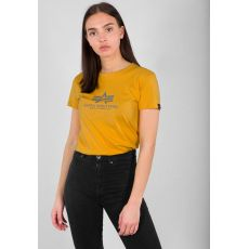 Alpha Industries tričko New Basic T Wmn - horčicová (wheat)