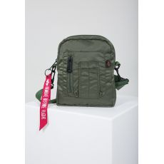 Taška Alpha Industries Crew Cary Bag - zelená (sage green)