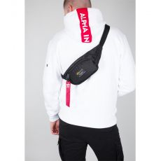 Alpha Industries ladvinka Crew Waist Bag - čierna (black)