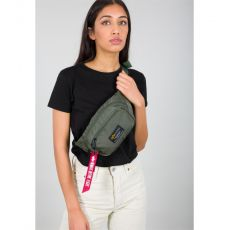 Alpha Industries ladvinka Crew Waist Bag - zelená (sage green)
